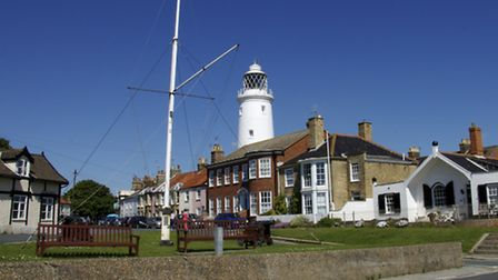 Southwold lighthouse, which stands proud over the town, will feature in a Royal Mail stamp collectio