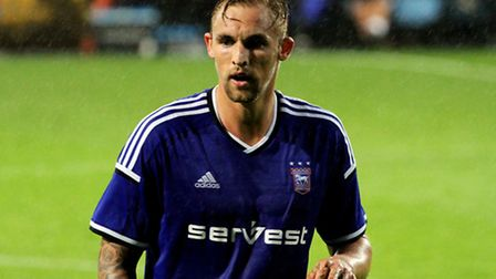 Jack Collison in action for Ipswich's Under-21 side