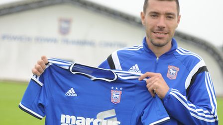 Darren Ambrose has signed a short-term deal with Ipswich Town. PHOTO: SU ANDERSON