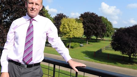 Dr Christopher Bushby is the executive director of the Suffolk Agricultural Association.
