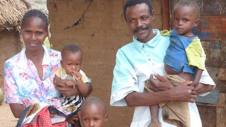 Give Hunger the Boot: A Kenyan family who are being helped by the scheme