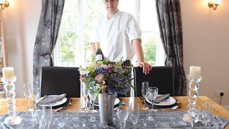 Chef Matt Phillips has started M Phillips Dining where he provides fine dining at a person's home.