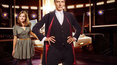 Doctor Who is back with Peter Capaldi playing the Time Lord and Jenna Coleman as assistant Clara Osw