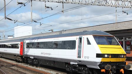 Train operator Greater Anglia said Network Rail workers are attempting to re-open the Norwich-bound