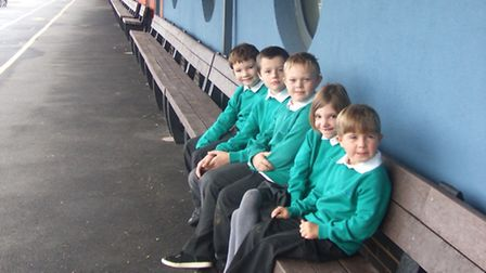 Social enterprise Realise Futures has built an extra-long bench for a special needs school in Berksh