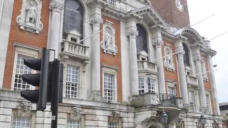 Colchester Town Hall has embarked on a council house building project.