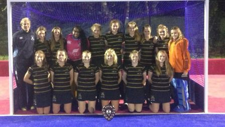The 1st XI girls were crowned County Champions on Thursday evening after a superb display in a physi