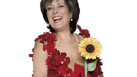 The late Lynda Bellingham, who starred in Calendar Girls at the Ipswich Regent