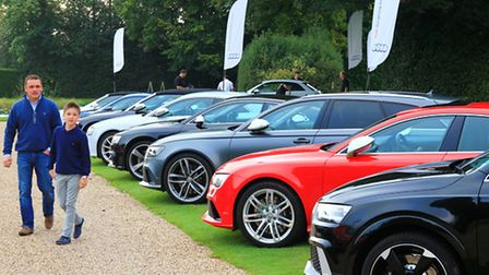 The Audi RS Sport Showcase driving day organised by Marriott Motor Group at Haughley Park Barn, near