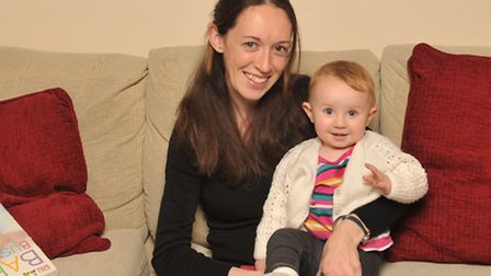 Naomi Gornall with her daughter Maria.