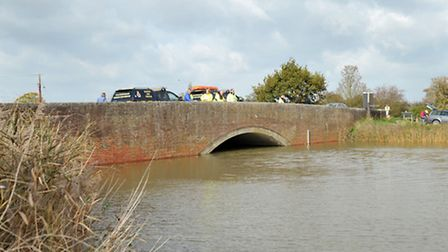Parts of Suffolk were flooded at high tide on Wednesday 22nd October. Places included Southwold Harb