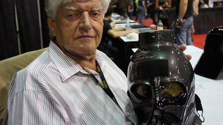 Darth Vader actor David Prowse, coming to Bury St Edmunds' Time and Space this weekend