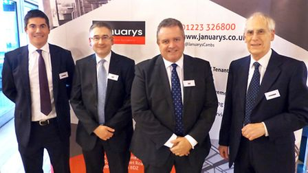 Colleagues from Januarys and John Popham Planning at the event to celebrate the firms joining forces