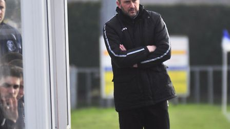 Today's game will be Steve Ball's last as Leiston boss