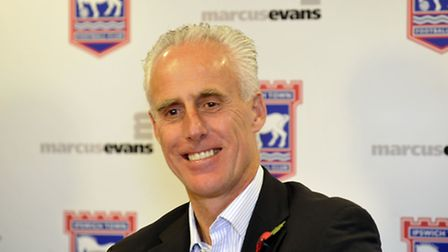 Mick McCarthy, pictured after being appointed Ipswich Town manager in November 2012.