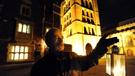 Tour guide Mike Dean on the Ghostly and Macabre Bury walk - which runs each year