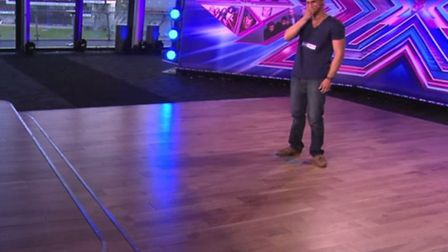 US Air Force's Charlie Martinez, based at RAF Mildenhall, appeared on the X Factor. Singing in the