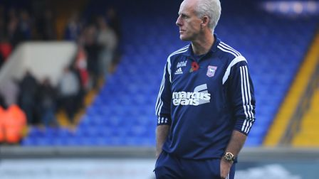 Mick McCarthy, pictured following Ipswich Town's 2-2 home draw with Huddersfield