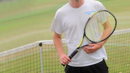 Ipswich tennis player Matt Hough is aiming to reach the UK top 50 by Christmas.