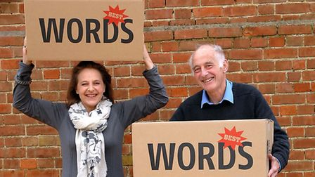 Naomi Jaffa and Michael Laskey, founder of Aldeburgh Poetry Festival, back in 2008. This is Naomi'