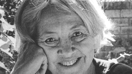 Poet Ad�lia Prado. 'Shes doing that thing that poets do  being in touch with the biggest picture t