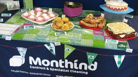 One of Monthind Clean's contributions to Macmillan's 'Biggest Ever Coffee Morning' campaign.