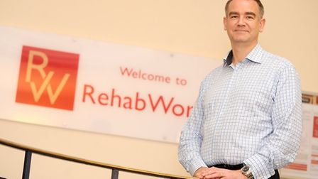 Andy Holdcroft, chief executive of RehabWorks.
