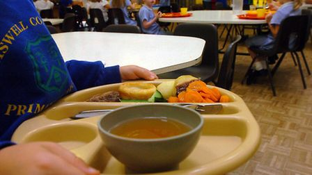 EADT NEWS WEST - WILL CLARKE HEALTHY EATING - Pupils from Elmswell Community Primary School settl