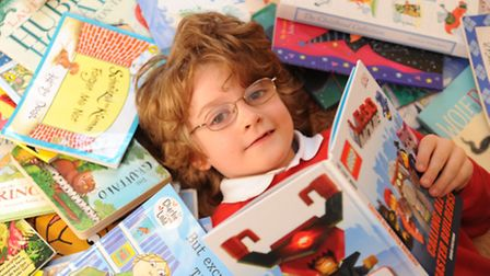 Laurie Shaw read 125 books as part of his reading challenge