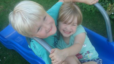 Claire Jenning's children, Jacob and Erin