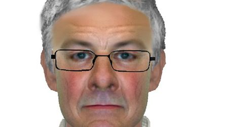An Efit of the man police would like to talk to