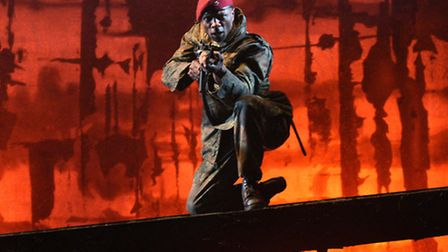 Macbeth at the Colchester Mercury. Photo: Robert Day. David Carr as Ross