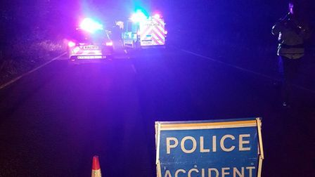 Police have been called to the scene of a crash on the A143 at Wortwell.Photo: @SouthNorfPolice