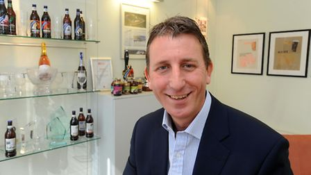Adnams chief executive Andy Wood.