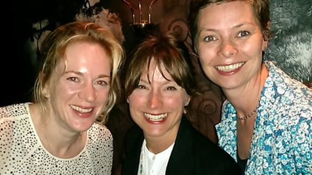 From left, Erika Clegg of Spring, Amanda Bond of VisitSuffolk and Laura Marfell-Williams of Spring