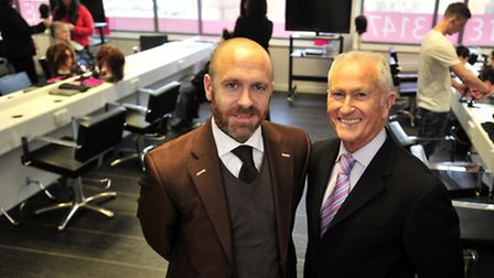 Alan D Hairdressing Academy, Ipswich Edward and Alan Hemmings
