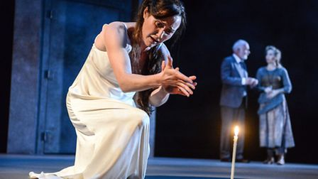 Macbeth at the Colchester Mercury. Photo: Robert Day. Esther Hall as Lady Macbeth