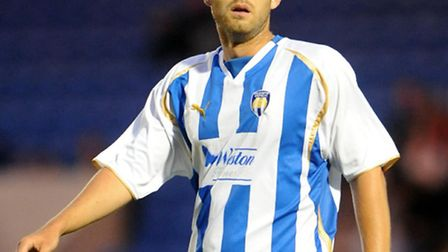 David Fox, who has a signed a three-month deal with Colchester United