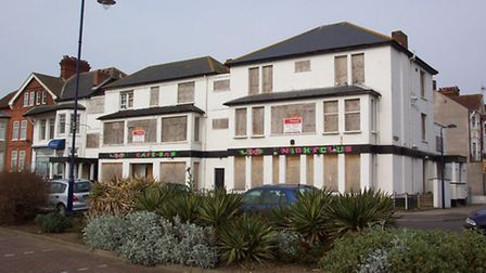 The North Sea Hotel at Felixstowe which has been sold and likely to be demolished for redevelopment.