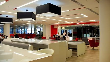 Inside the new London hedquarters of the GSMA, the international mobile operators' organisation, whi