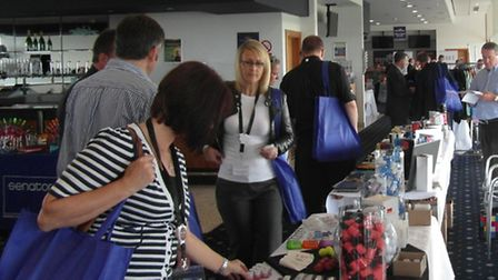 Falcon Promotions' Promotional Gift and Merchandise Exhibition at the Newmarket Rowley Mile Conferen