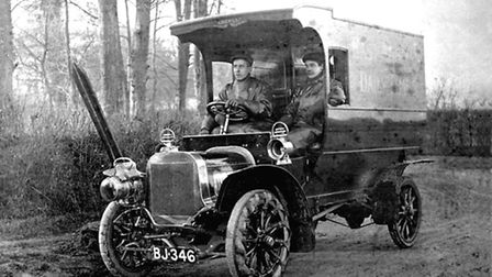 This was how the East Anglian Daily Times was delivered to newsagents throughout the region arou