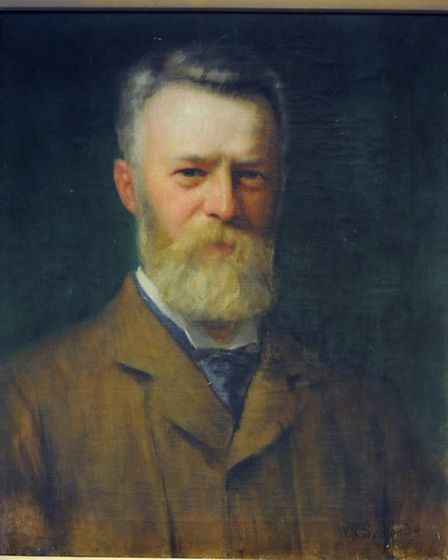 Sir Frederick W Wilson, first chairman of the East Anglian Daily Times Ltd