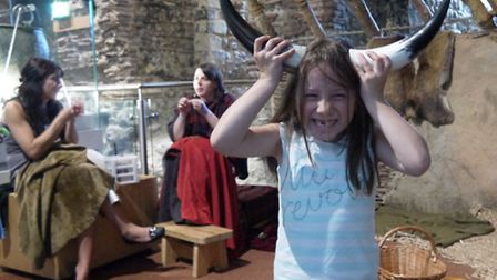 Fun at the castle museum