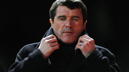 Roy Keane leaves the pitch following Ipswich Town's 1-0 home defeat to Nottingham Forest in January
