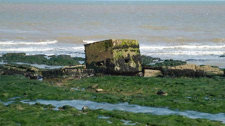 Historic Second World War defences uncovered on the Suffolk coast