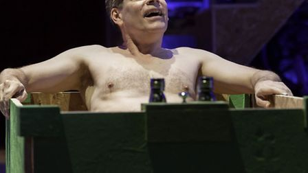 Bill Champion in This is My Family by Tim Firth which is at the New Wolsey Theatre, Ipswich