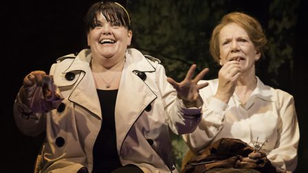 Rachel Lumberg and Marjorie Yates in This is My Family by Tim Firth which is at the New Wolsey Theat
