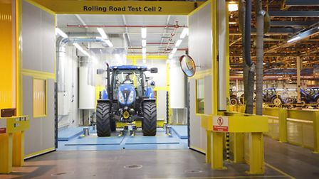 The New Holland tractor plant at Basildon