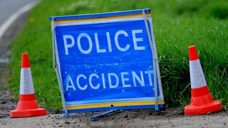The road is closed due to the accident